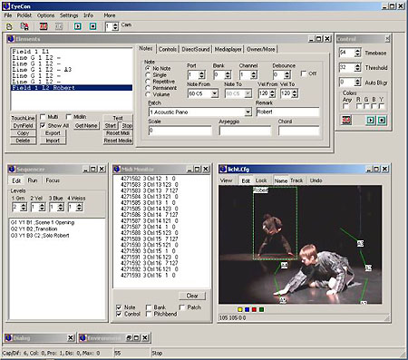 Frieder Weiss – Motion Tracking software Eyecon